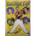 Backstreet Boys (bigflag yellow) gammal posterflagga