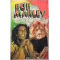 Bob Marley - lion africmap Flagga