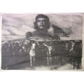 Che Guevara (army grey white) Big size flagga