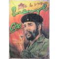 Che Guevara (cigarr) poster flagga tygaffisch