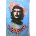 Che Guevara (face sydamerika) flagga tygaffisch