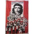 Che Guevara (multifaces) flagga tygaffisch