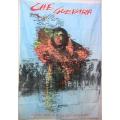 Che Guevara (sydamerika arme) flagga tygaffisch