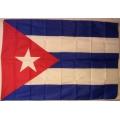 Cuba flagga - Kuba Nationsflagga. Bigflag posterflagga