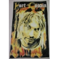 Kurt Cobain (face yellow color) gammal posterflagga