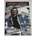 Kurt Cobain (news) gammal posterflagga