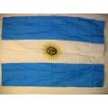 Nationsflagga - Argentina. bigflag Posterflagga