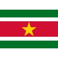 Nationsflagga - Surinam Posterflagga