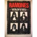 Ramones (Wanted bigflag) gammal posterflagga