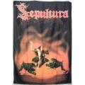 Sepultura (bigflag) sällsynt gammal posterflagga