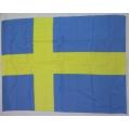 Sverige flagga - tjockt kors (big flag) posterflagga