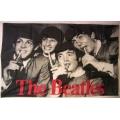 The Beatles - Drinks gammal posterflagga