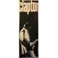 Eric Clapton (Avlång dörrflagga) ovanlig gammal posterflagga