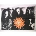 Alice in Chains gammal poster flagga från 1995 SAMLAROBJEKT