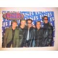 Backstreet Boys (x2 sunglasses) gammal posterflagga