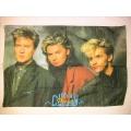 Duran Duran gammal posterflagga