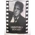 Film flagga Humphrey Bogart mycket ovanlig gammal posterflag