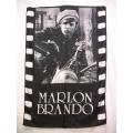 Film flagga Marlon Brando mycket ovanlig gammal posterflag