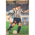 Fotbolls flagga Del Piero2 (tyg-affish)