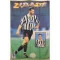 Fotbolls flagga Zidane (tyg-affish)
