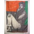 George Michael WHAM! gammal flagga från 1987