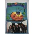 Helloween - Grupp Bild. Posterflagga från 1994 SAMLAROBJEKT