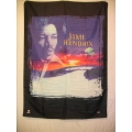 Jimi Hendrix - sunset posterflagga från 1997
