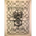 Joy Division disorder gammal posterflagga SAMLAROBJEKT