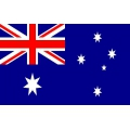 Nationsflagga - Australien Posterflagga
