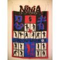 Ninja shadow warriors gammal posterflagga från 80-talet