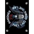 RAMONES - They laid down. posterflagga från 2006
