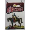 Saxon - Crusader. gammal Posterflagga från 1984 SAMLAROBJEKT