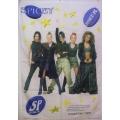 Spice Girls (group pict white) flagga från 1997