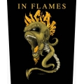 IN FLAMES - SPINE. Ryggmärke