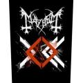 Mayhem - ORDO AD CHAO. Ryggmärke