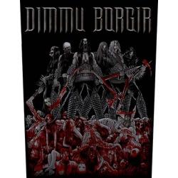 DIMMU BORGIR - VENGEANCE. Ryggmärke