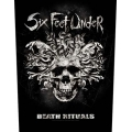 SIX FEET UNDER - DEATH RITUALS. Ryggmärke
