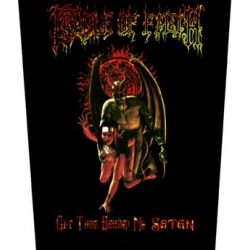 CRADLE OF FILTH - GET THEE BEHIND ME SATAN. Ryggmärke