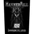 HAMMERFALL - IMMORTALIZED. Ryggmärke