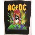 AC/DC - Ryggmärke från 1989 SAMLAROBJEKT