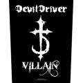 DEVIL DRIVER - VILLIAN. Ryggmärke