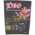 Dio - Lock Up The Wolves Ryggmärke från 1990