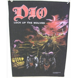 Dio - Lock Up The Wolves Ryggmärke från 1990
