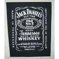 JACK DANIELS - Jack Daniel´s. Ryggmärke Gammalt SAMLAROBJEKT