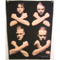 Metallica - Crossed Bones Ryggmärke från 1992
