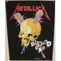 Metallica - Damage inc Ryggmärke från 1987