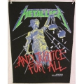 Metallica - and Justice for All Ryggmärke från 1988