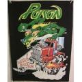 Poison - Flesh Blood Tour Ryggmärke från 1990
