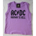 AC/DC - Highway to hell. Tjejlinne Small