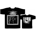 DARKTHRONE - TAAKEFERD/UNDER A FUNERAL MOON. T-shirt  XL